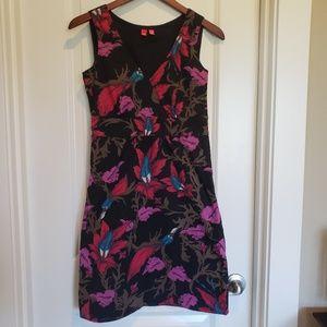 Esprit Floral V-Neck Sleeveless Shift Dress